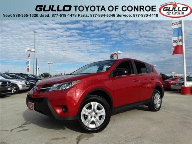 2013 Toyota RAV4 SUV for sale in Conroe for $21,898 with 32,704 miles.