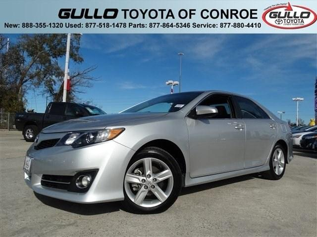 2012 Toyota Camry SE Sedan for sale in Conroe for $18,985 with 18,704 miles.