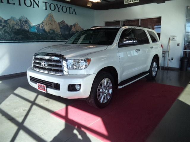 2014 Toyota Sequoia SUV for sale in Idaho Falls for $54,995 with 22,964 miles.