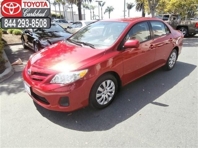 2012 Toyota Corolla LE Sedan for sale in Carlsbad for $14,988 with 26,436 miles