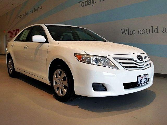 2010 Toyota Camry LE Sedan for sale in El Cajon for $14,510 with 77,934 miles