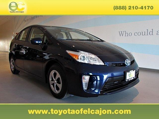 2013 Toyota Prius Hatchback for sale in El Cajon for $20,972 with 33,208 miles.