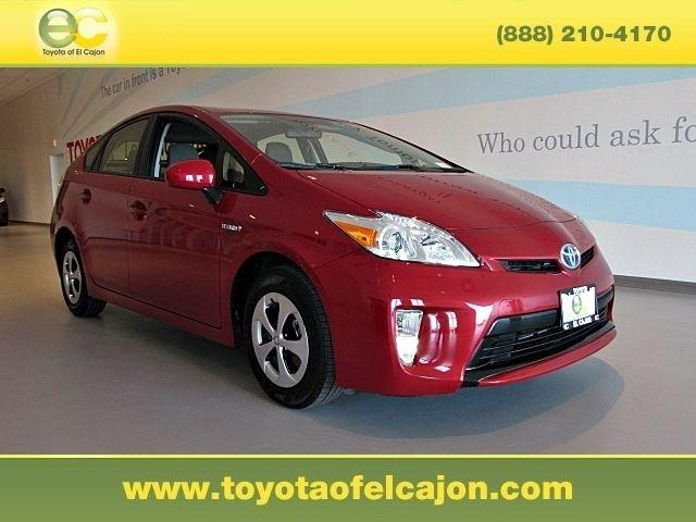 2013 Toyota Prius Hatchback for sale in El Cajon for $20,455 with 32,498 miles.