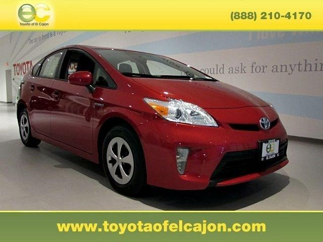 2013 Toyota Prius Hatchback for sale in El Cajon for $20,521 with 37,180 miles.