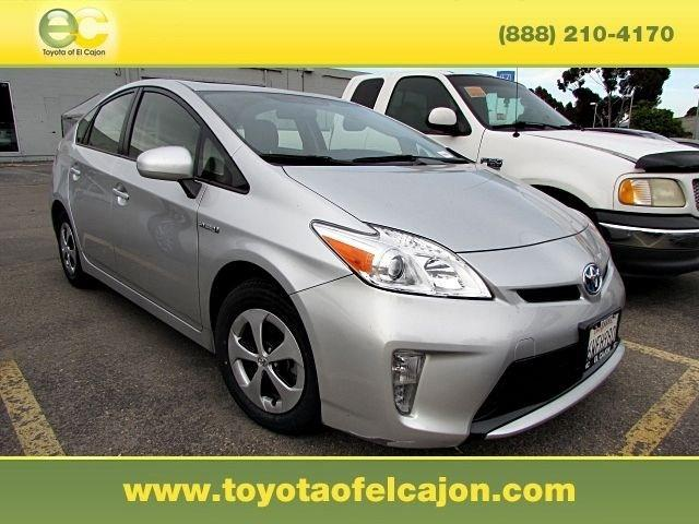 2012 Toyota Prius Three Hatchback for sale in El Cajon for $20,540 with 29,635 miles