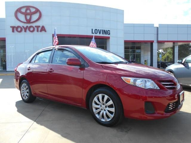 2013 Toyota Corolla LE Sedan for sale in Lufkin for $16,495 with 10,042 miles.