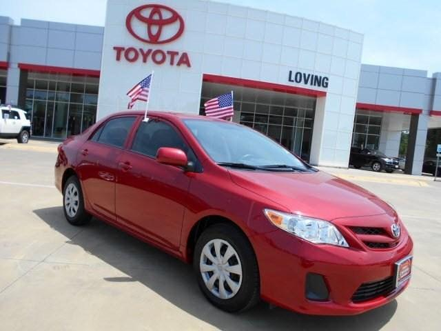 2013 Toyota Corolla Sedan for sale in Lufkin for $16,995 with 14,925 miles.