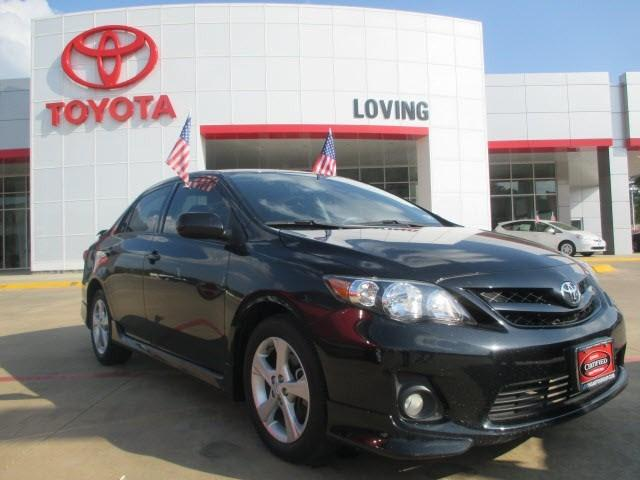 2012 Toyota Corolla S Sedan for sale in Lufkin for $14,995 with 53,311 miles