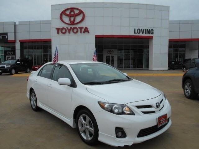 2011 Toyota Corolla S Sedan for sale in Lufkin for $14,495 with 36,040 miles