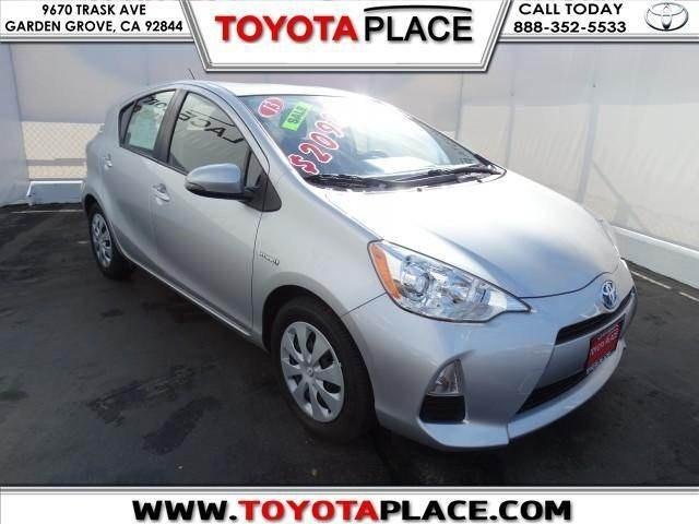 2013 Toyota Prius C Hatchback for sale in Garden Grove for $20,988 with 4,749 miles.