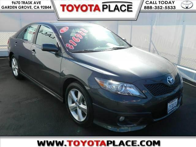 2010 Toyota Camry SE Sedan for sale in Garden Grove for $15,988 with 67,220 miles.