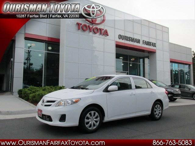 2013 Toyota Corolla Sedan for sale in Fairfax for $15,477 with 27,405 miles.