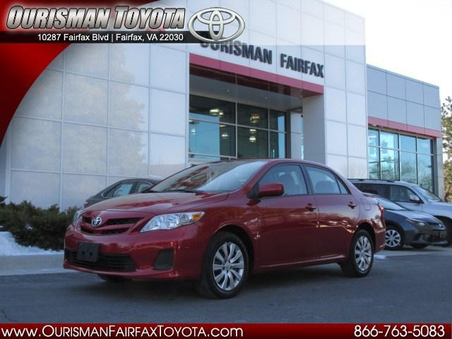 2012 Toyota Corolla LE Sedan for sale in Fairfax for $12,987 with 30,390 miles.