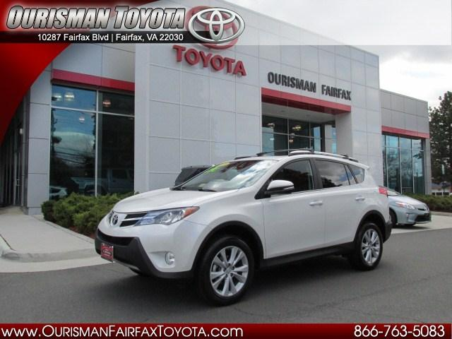 2013 Toyota RAV4 SUV for sale in Fairfax for $26,499 with 14,224 miles.