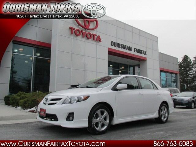 2012 Toyota Corolla S Sedan for sale in Fairfax for $15,987 with 18,831 miles.