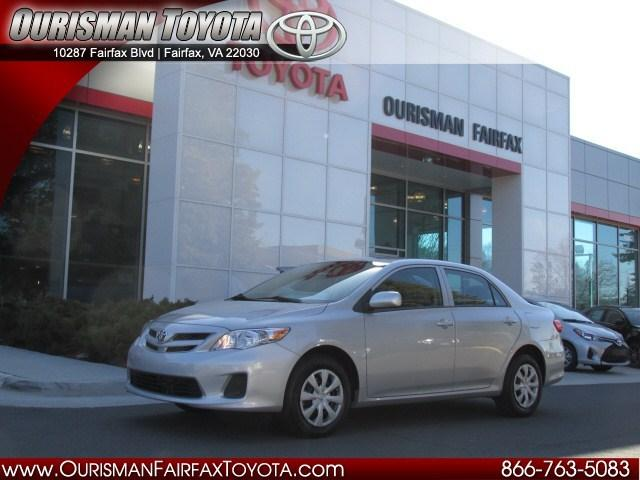 2013 Toyota Corolla Sedan for sale in Fairfax for $14,899 with 12,032 miles.