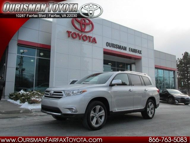 2013 Toyota Highlander SUV for sale in Fairfax for $36,725 with 12,166 miles.