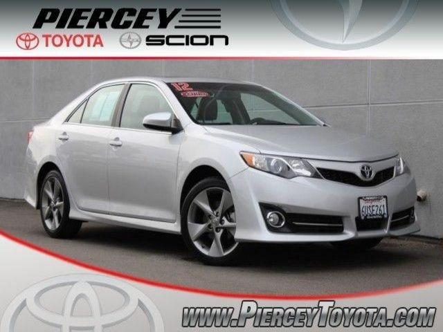 2012 Toyota Camry SE Sedan for sale in Milpitas for $22,998 with 23,178 miles.