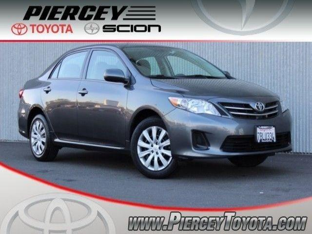 2013 Toyota Corolla LE Sedan for sale in Milpitas for $18,998 with 33,786 miles.