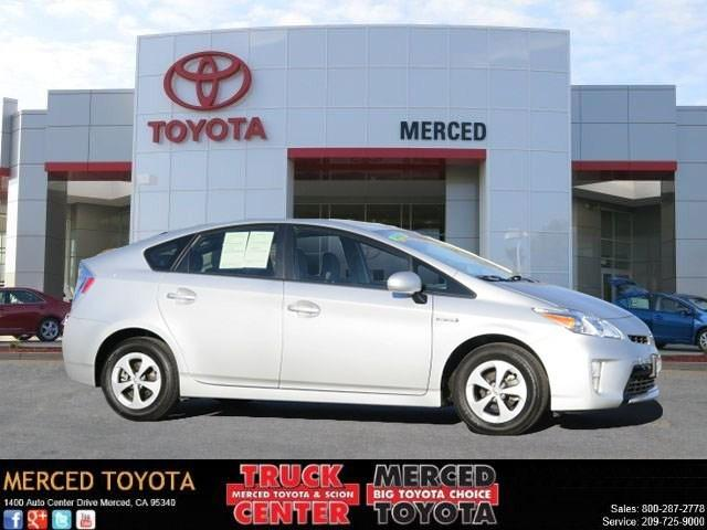 2012 Toyota Prius Three Hatchback for sale in Merced for $19,997 with 35,871 miles