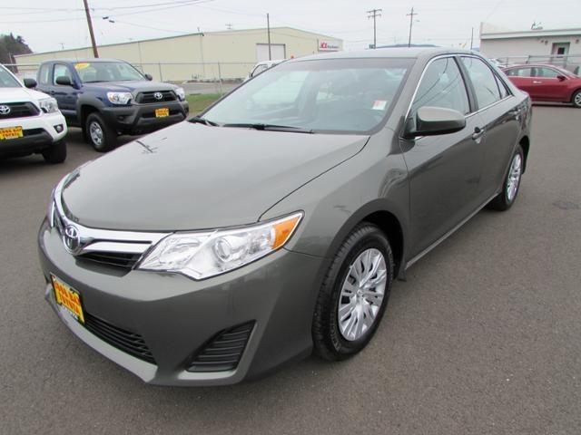 2012 Toyota Camry LE Sedan for sale in Coos Bay for $17,987 with 13,060 miles