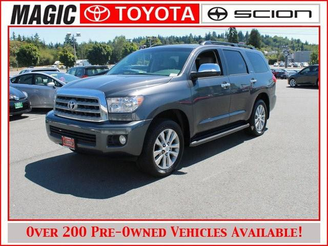2013 Toyota Sequoia SUV for sale in Edmonds for $49,990 with 18,749 miles.