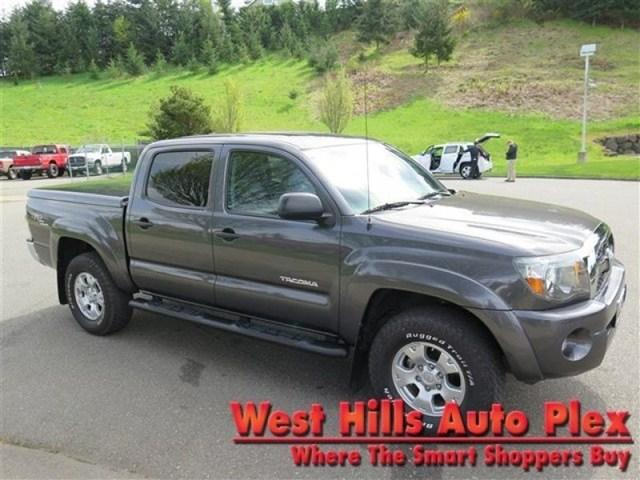 2011 Toyota Tacoma Double Cab Crew Cab Pickup for sale in Bremerton for $31,000 with 33,058 miles