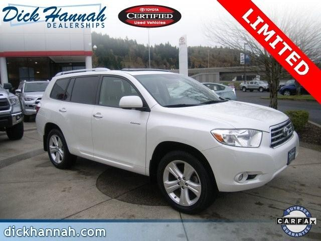 2010 Toyota Highlander SUV for sale in Kelso for $31,955 with 46,183 miles.