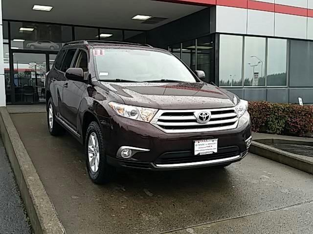2011 Toyota Highlander Base SUV for sale in Vancouver for $25,992 with 55,519 miles.