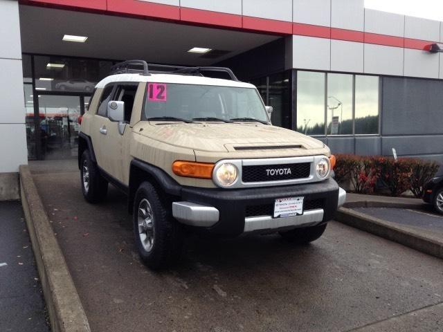 2012 Toyota FJ Cruiser Base SUV for sale in Vancouver for $30,681 with 41,532 miles.