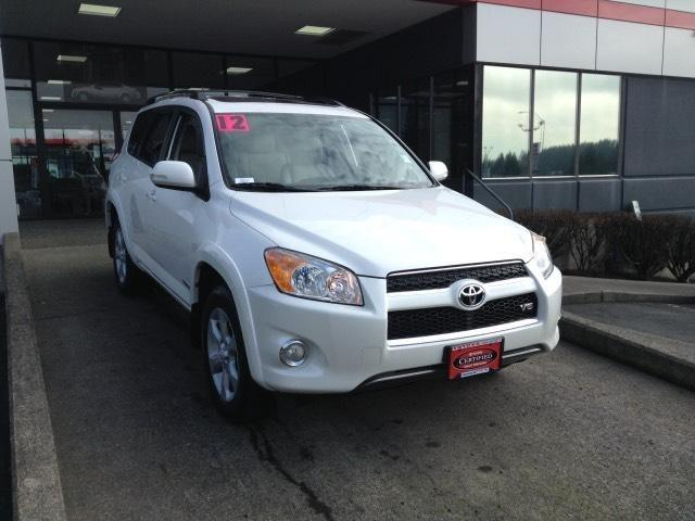 2012 Toyota RAV4 Limited SUV for sale in Vancouver for $25,948 with 18,458 miles.