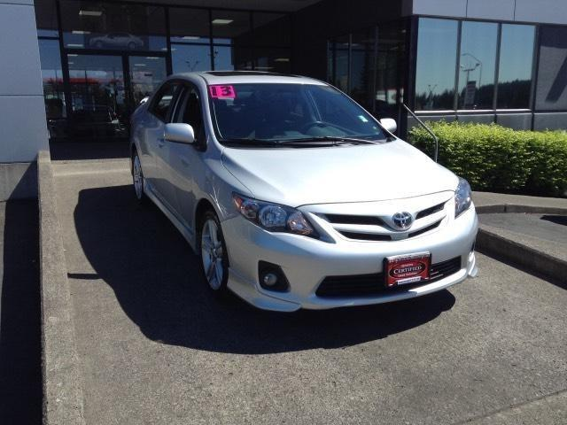 2013 Toyota Corolla Sedan for sale in Vancouver for $18,991 with 36,178 miles