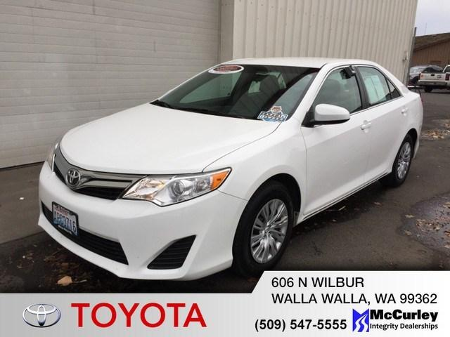 2014 Toyota Camry Sedan for sale in Walla Walla for $20,690 with 2,786 miles