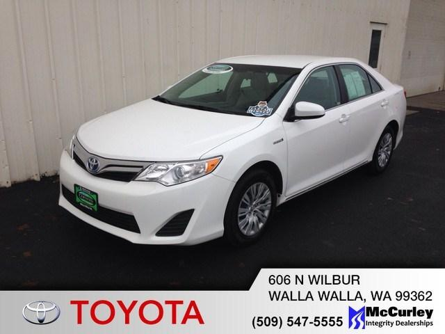 2012 Toyota Camry Hybrid LE Sedan for sale in Walla Walla for $21,590 with 53,054 miles