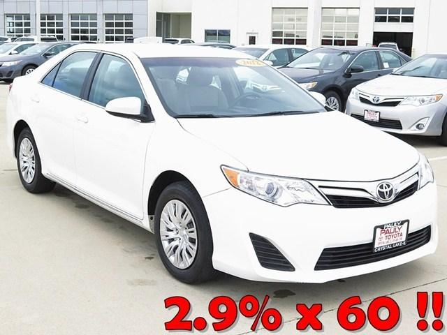 2012 Toyota Camry LE Sedan for sale in Crystal Lake for $15,989 with 56,276 miles.