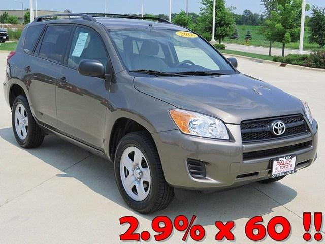 2012 Toyota RAV4 Base SUV for sale in Crystal Lake for $22,650 with 52,927 miles.