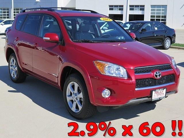 2012 Toyota RAV4 Limited SUV for sale in Crystal Lake for $25,330 with 18,394 miles