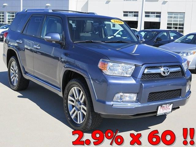 2010 Toyota 4Runner Limited SUV for sale in Crystal Lake for $27,989 with 80,256 miles.