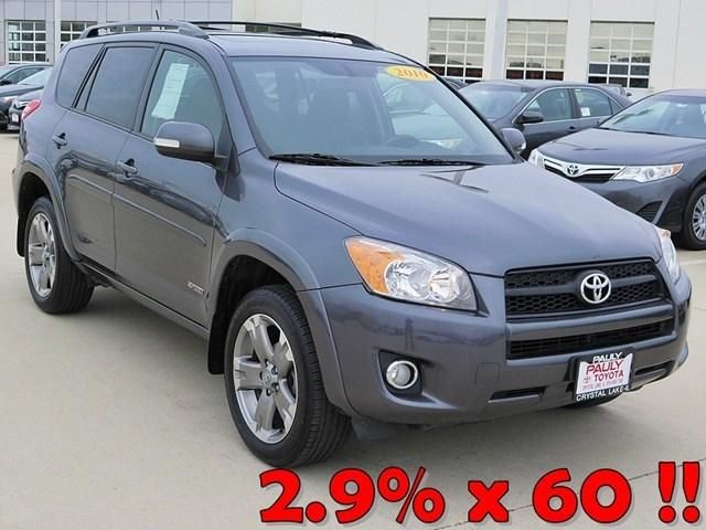 2010 Toyota RAV4 Sport SUV for sale in Crystal Lake for $17,989 with 31,107 miles.
