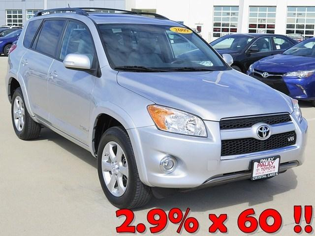 2009 Toyota RAV4 Limited SUV for sale in Crystal Lake for $18,989 with 64,440 miles.