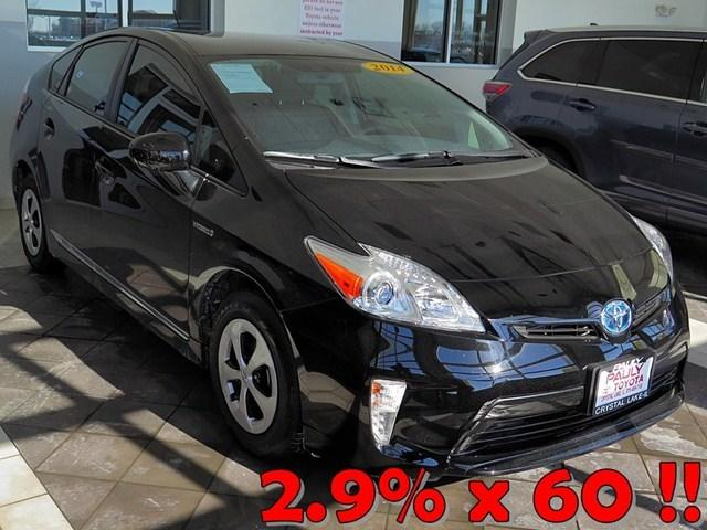 2014 Toyota Prius Hatchback for sale in Crystal Lake for $22,989 with 7,311 miles.