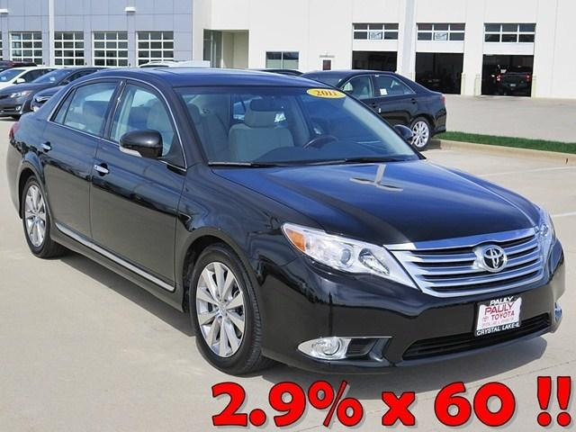 2011 Toyota Avalon Limited Sedan for sale in Crystal Lake for $21,989 with 70,153 miles.