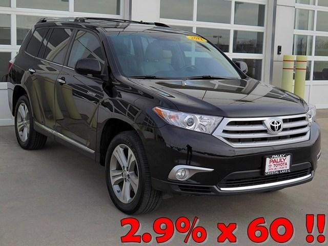 2012 Toyota Highlander Base SUV for sale in Crystal Lake for $32,989 with 24,852 miles.