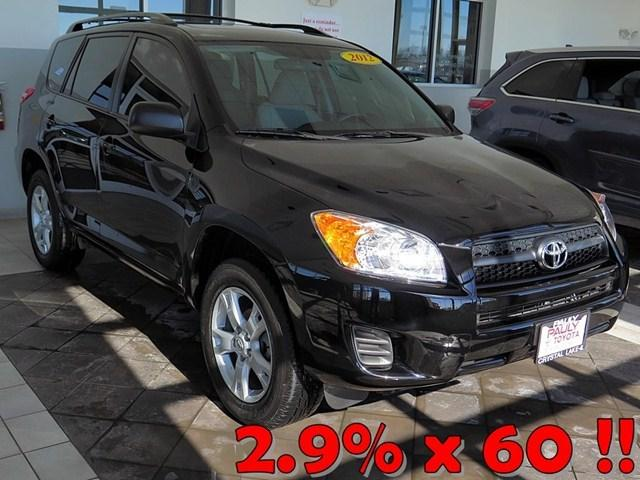 2012 Toyota RAV4 Base SUV for sale in Crystal Lake for $19,989 with 25,277 miles.
