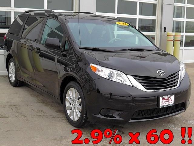 2012 Toyota Sienna Minivan for sale in Crystal Lake for $22,989 with 37,760 miles.