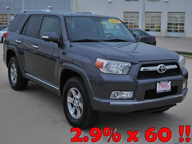 2011 Toyota 4Runner SR5 SUV for sale in Crystal Lake for $26,989 with 62,772 miles.