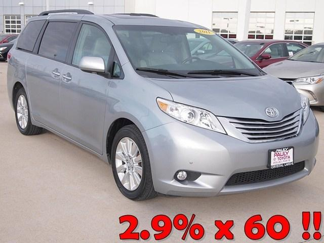 2011 Toyota Sienna Base Minivan for sale in Crystal Lake for $24,989 with 70,040 miles.