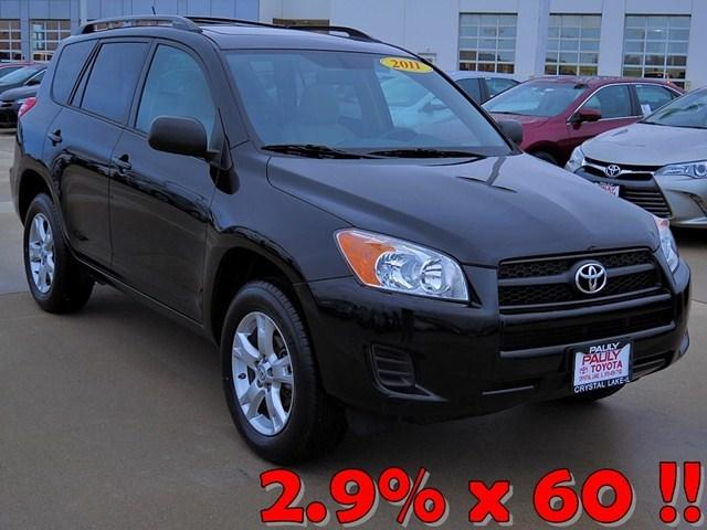 2011 Toyota RAV4 Base SUV for sale in Crystal Lake for $23,875 with 33,770 miles.