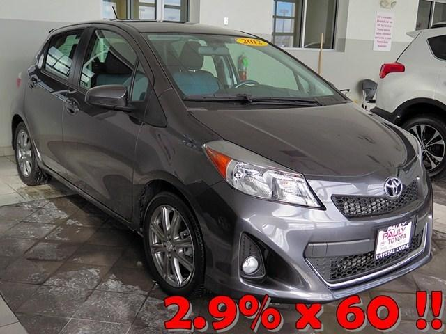 2012 Toyota Yaris SE Hatchback for sale in Crystal Lake for $15,989 with 8,904 miles.