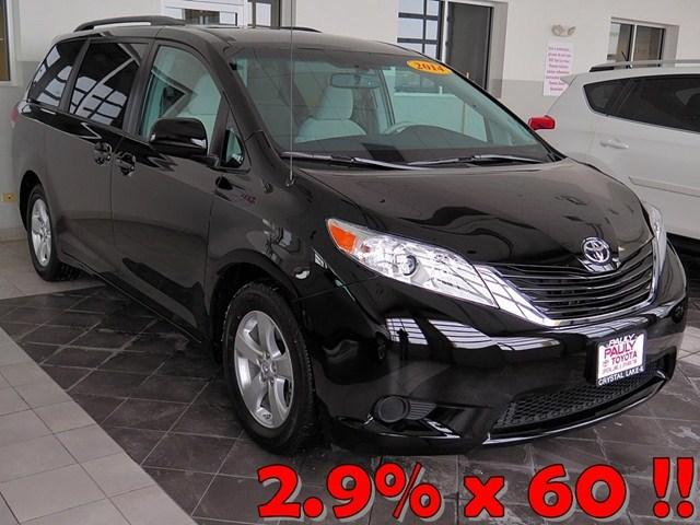 2014 Toyota Sienna Minivan for sale in Crystal Lake for $26,989 with 5,075 miles.